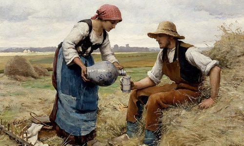 Picture-Story: Donna che versa una bevanda