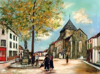 Utrillo - Eglise de Bessines