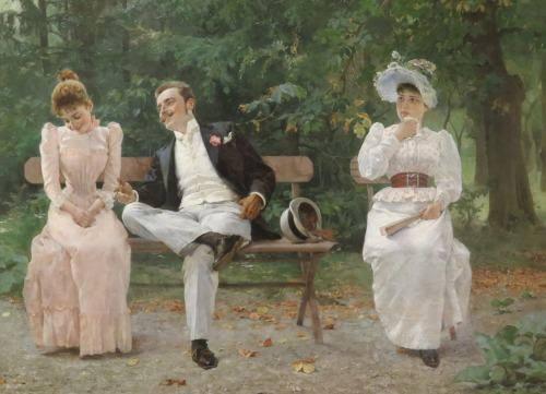 Tihamer Margitay - Jealousy, 1892