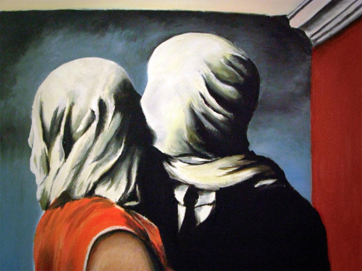 Magritte - Gli amanti