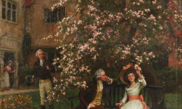 Picture-Story: Sotto il melo in fiore